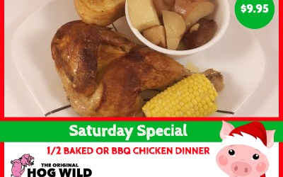 Saturday, December 29, 2018 Daily Special