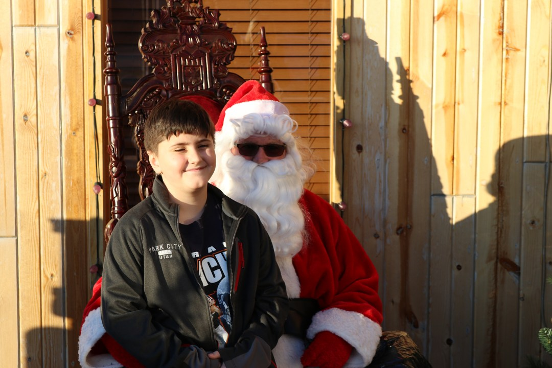 The Original Hog Wild Santa Visit 2019 36