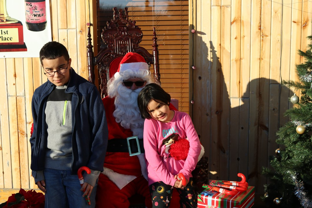 The Original Hog Wild Santa Visit 2019 43