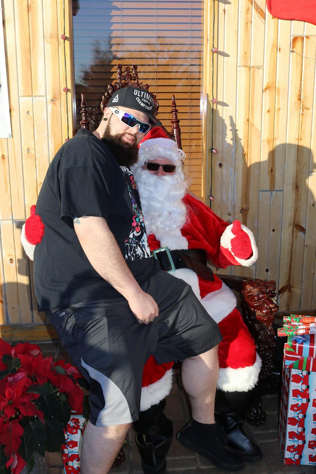The Original Hog Wild Santa Visit 2019 47