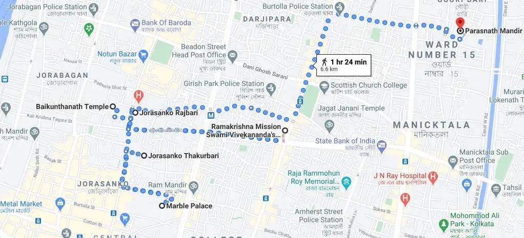 মার্বেল প্যালেস কলকাতা পশ্চিমবঙ্গ | সাথে আরো ৬ টি জায়গা