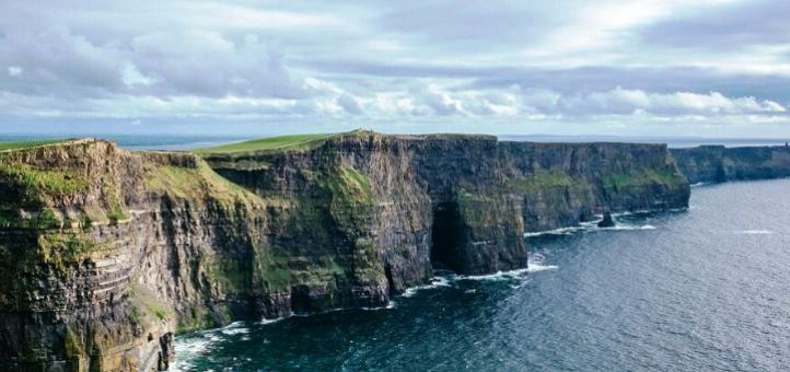 Cliff Of Moher Ireland & Cliffs Coast Nature Rock