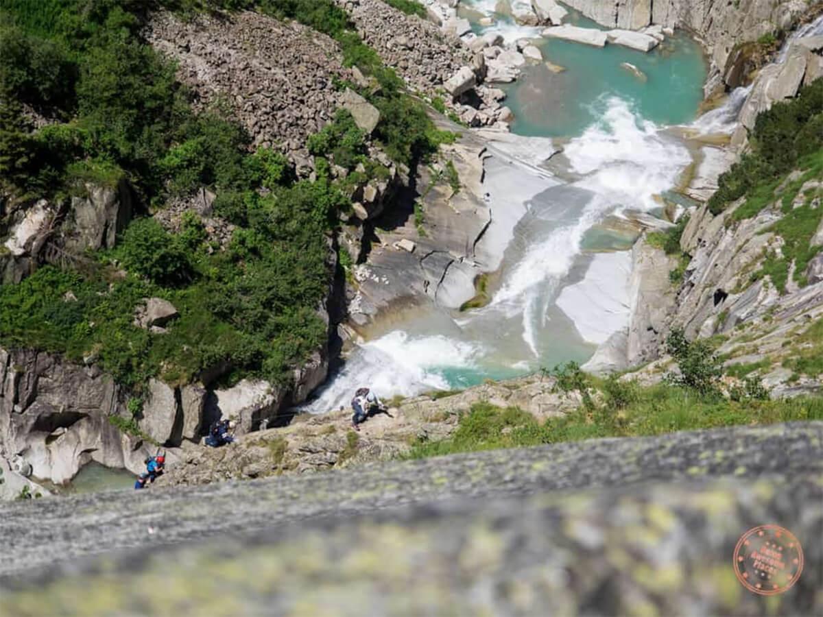 Climbing the Via Ferrata del Diavolo in Andermatt, Switzerland with Competitours