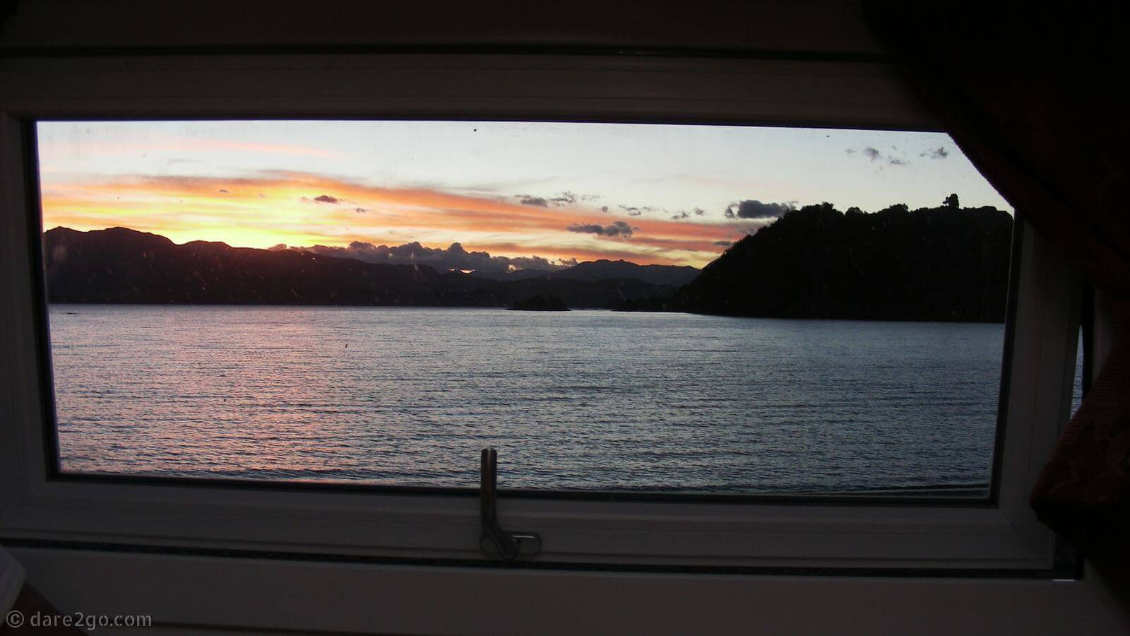 Enjoying this beautiful vista view instead of watching TV. Just another thing that long-term travel has ruined for me.
