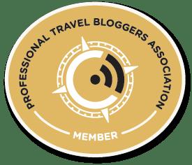 Member of PTBA, the Professional Travel Blogger Association