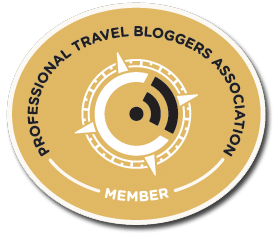 Member of PTBA, the Professional Travel Blogger Association