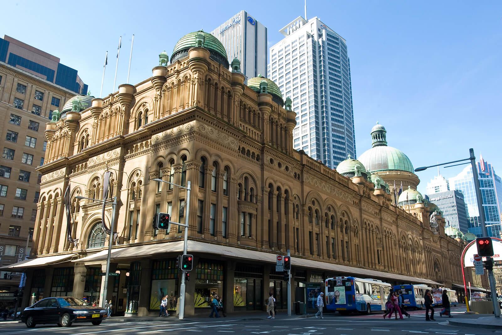 Queen Victoria Bulding in Sydney, Australia