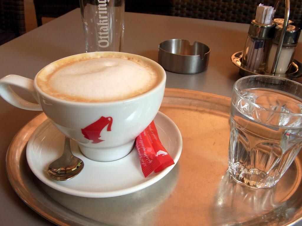Coffee in Vienna, Austria