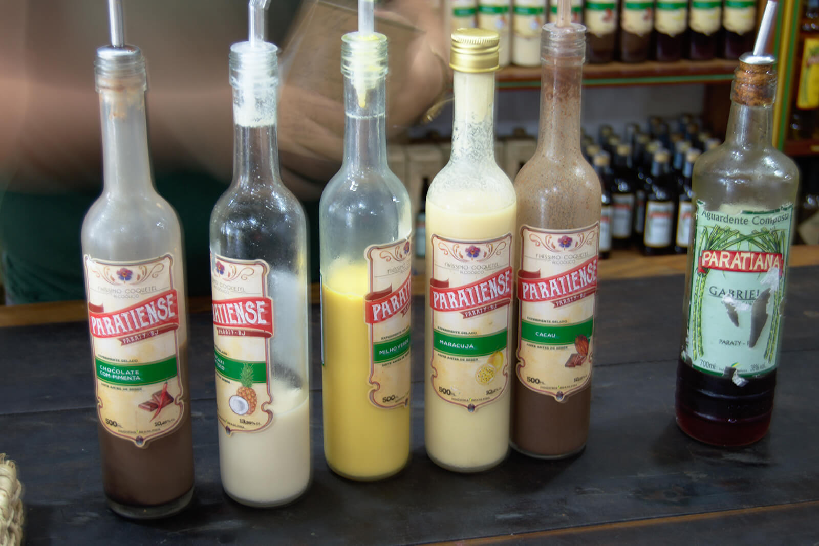 Cachaca in Brazil, one of the unique traditional alcoholic beverages to try while traveling