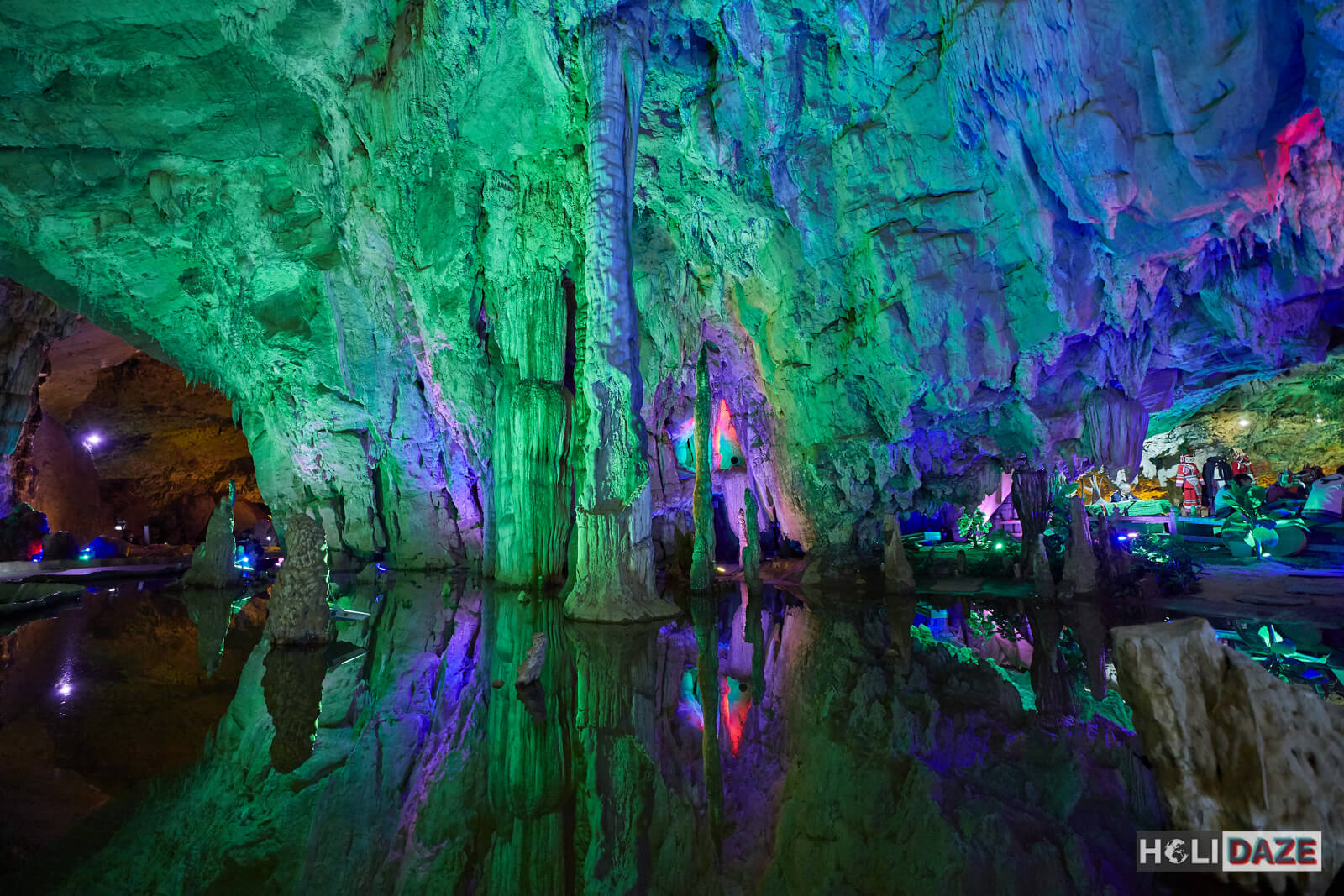 Jiuxiang Scenic Area is one of the best things to do in Yunnan, China because of the breathtaking natural beauty, including mountains, rivers, valleys and over 100 caves