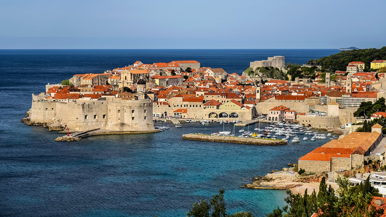 The old town of Dubrovnik, Croatia, one of the best destinations for solo female travelers