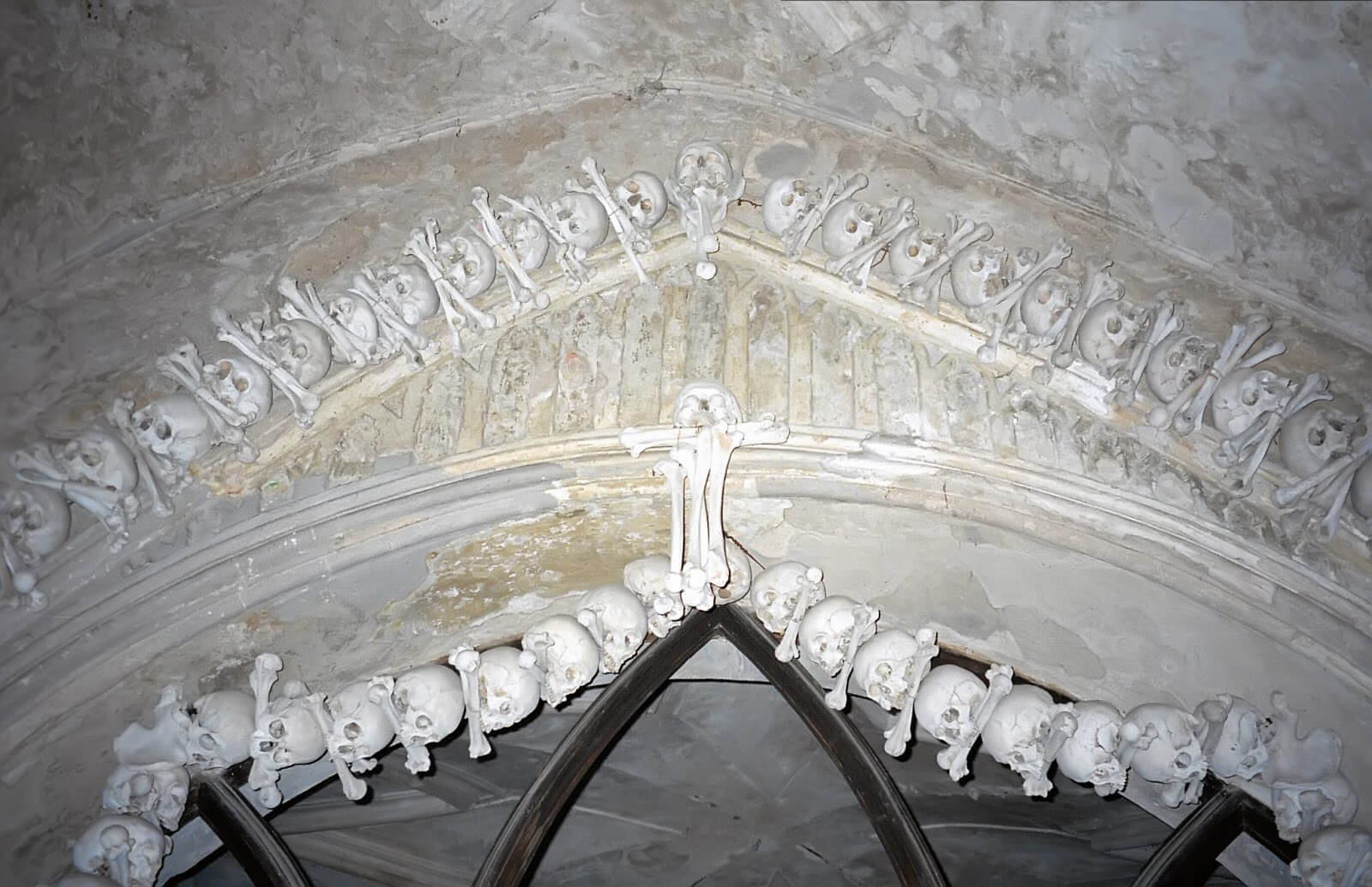Sedlec Ossuary in Kutna Hora, Czech Republic