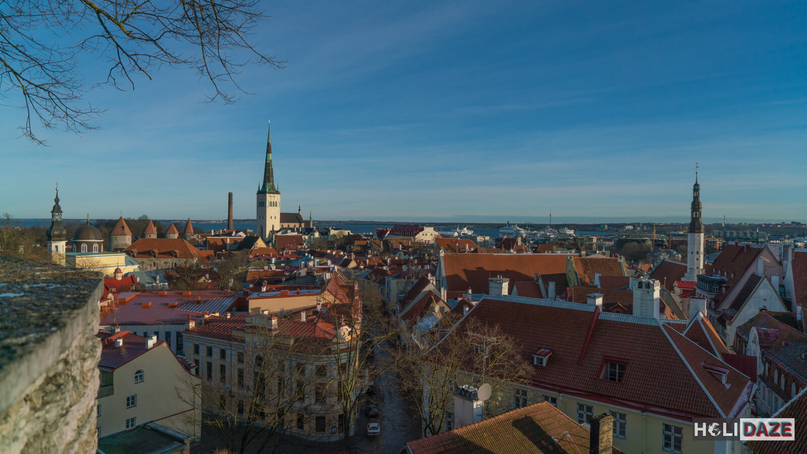 The Tallinn Old Town skyline is breathtaking -- and a UNESCO World Heritage Site