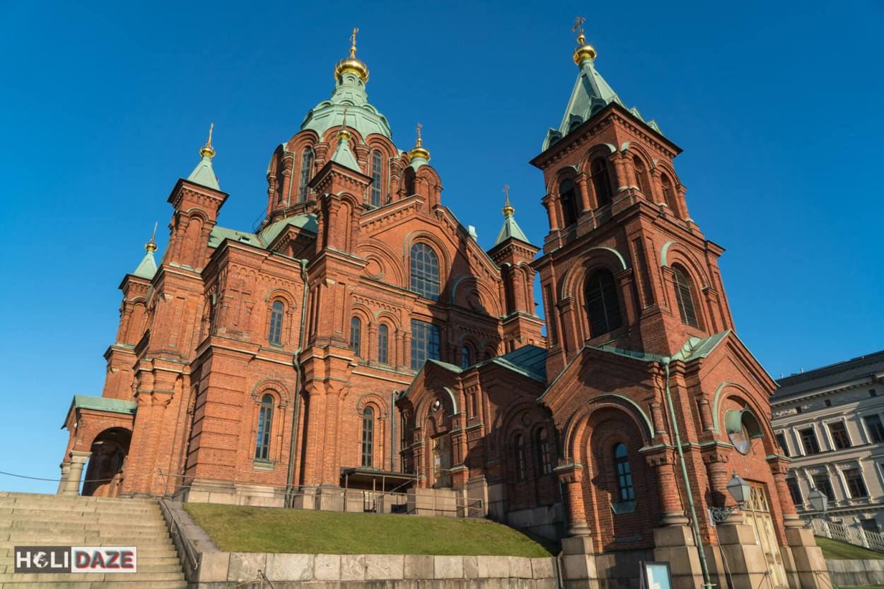 Uspenski Orthodox Cathedral in Helsinki is claimed to be the largest orthodox church in Western Europe