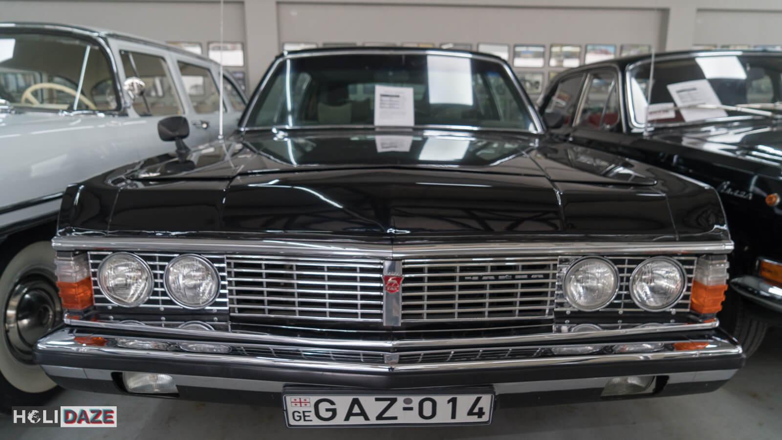President Eduard Shevardnadze's GAZ-14 is on display at Tbilisi Auto Museum in Georgia