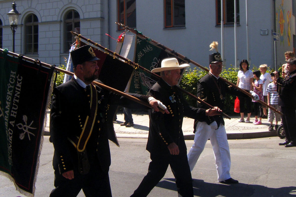 Bergstadtfest brings together mining communities from all over the region