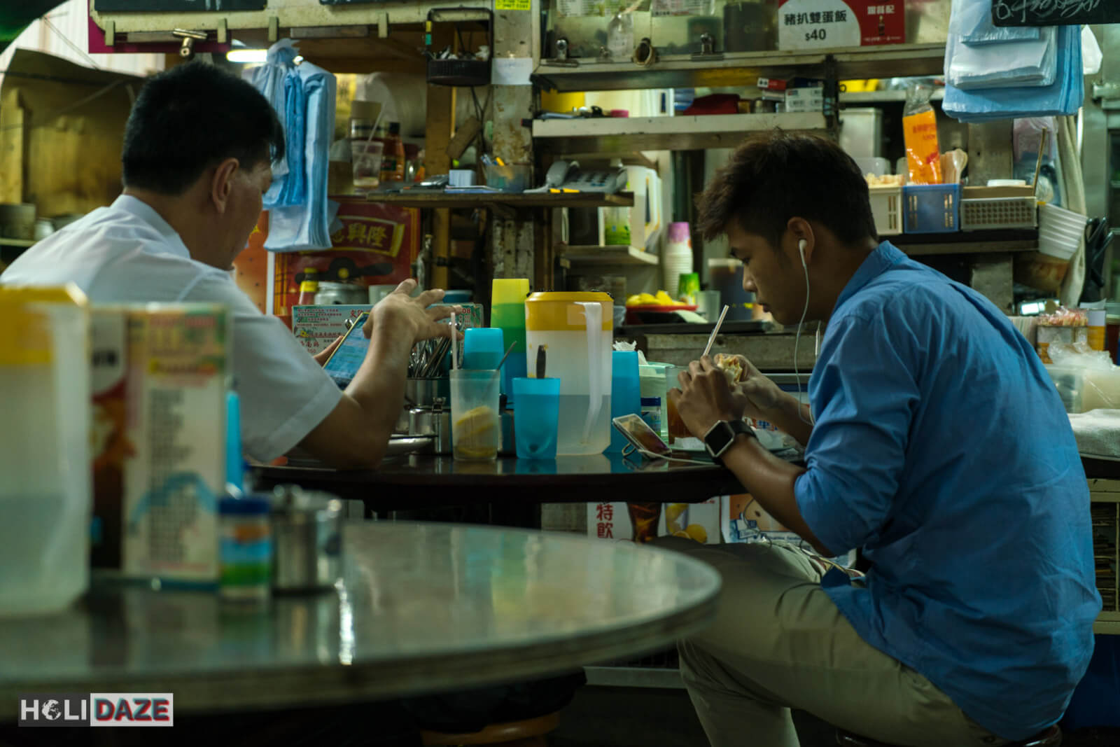 Local businessmen in Kowloon know that the Haiphong Road Temporary Market is home of the best beef ball noodle soup in all of Hong Kong