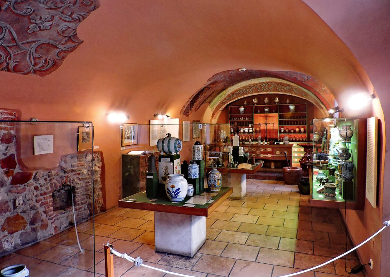 The Golden Eagle Pharmacy is a cool, quirky and offbeat Budapest museum