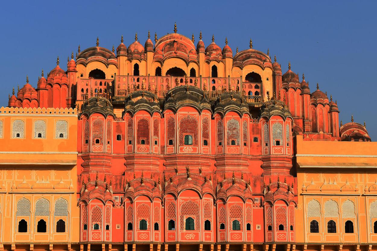 Hawa Mahal, the Wind Palace of Jaipur Pink City in India