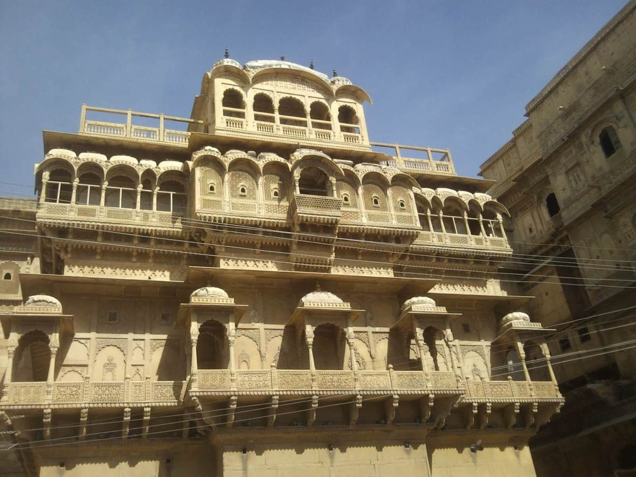 Raj Mahal Palace, also known as Jaisalmer Palace because of its location