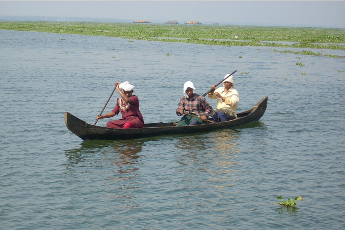 Traditional Kerala boat