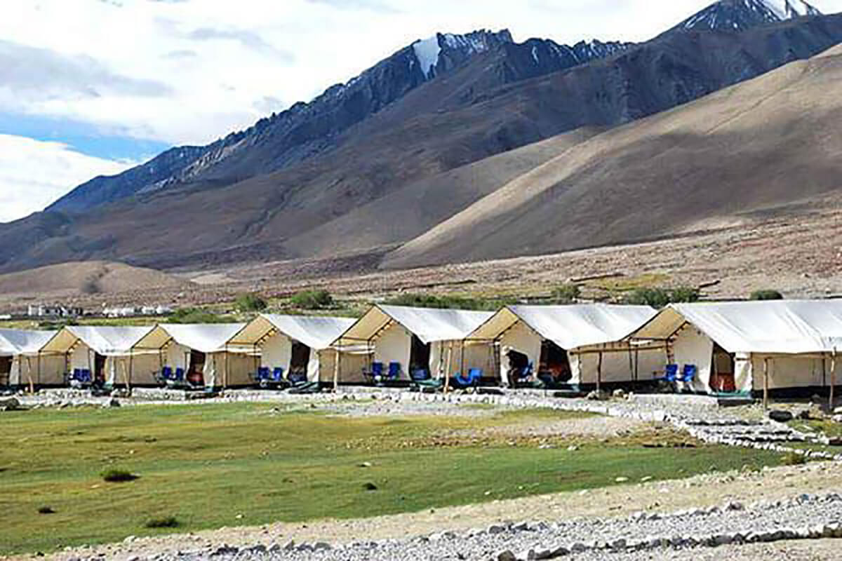Camping in Ladakh, one of the top places in India for camping