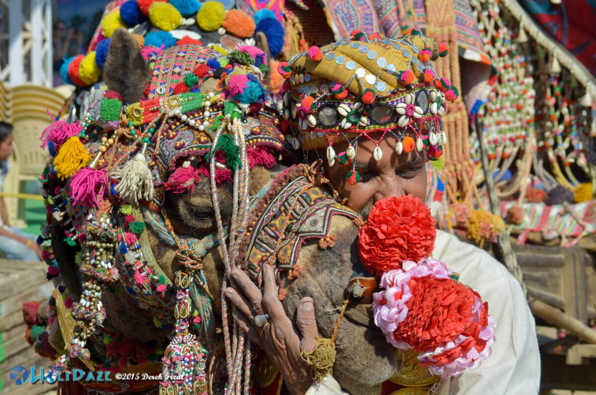 Ashok Tak at the Pushkar Camel Fair 2015