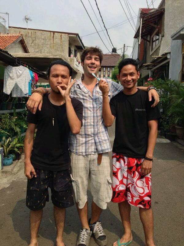 Rifky, Mohan and I