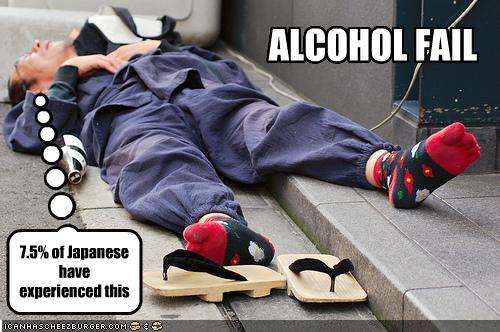 Alcohol Fail
