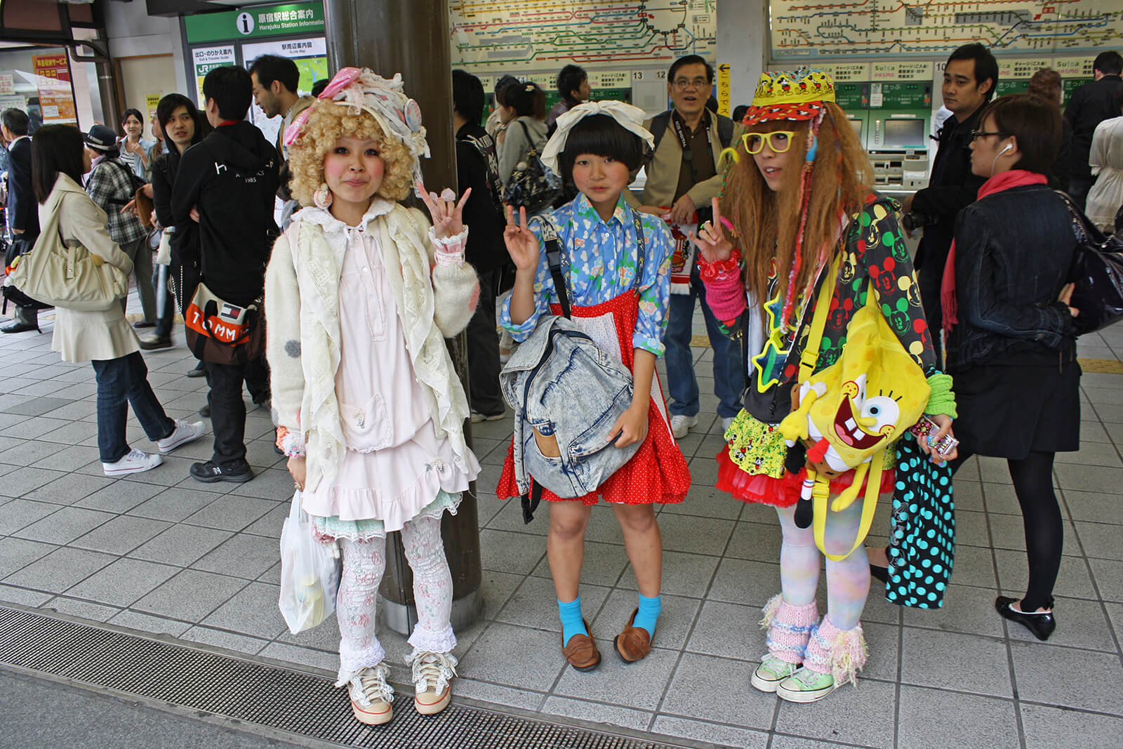 The Harajuku fashion district of Shibuya ward in Tokyo, Japan is known around the entire world