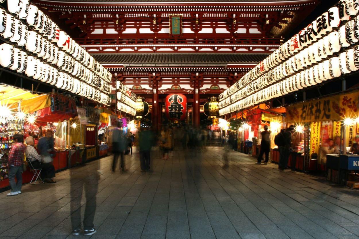 Senso Ji temple in Asakusa, Tokyo, Japan