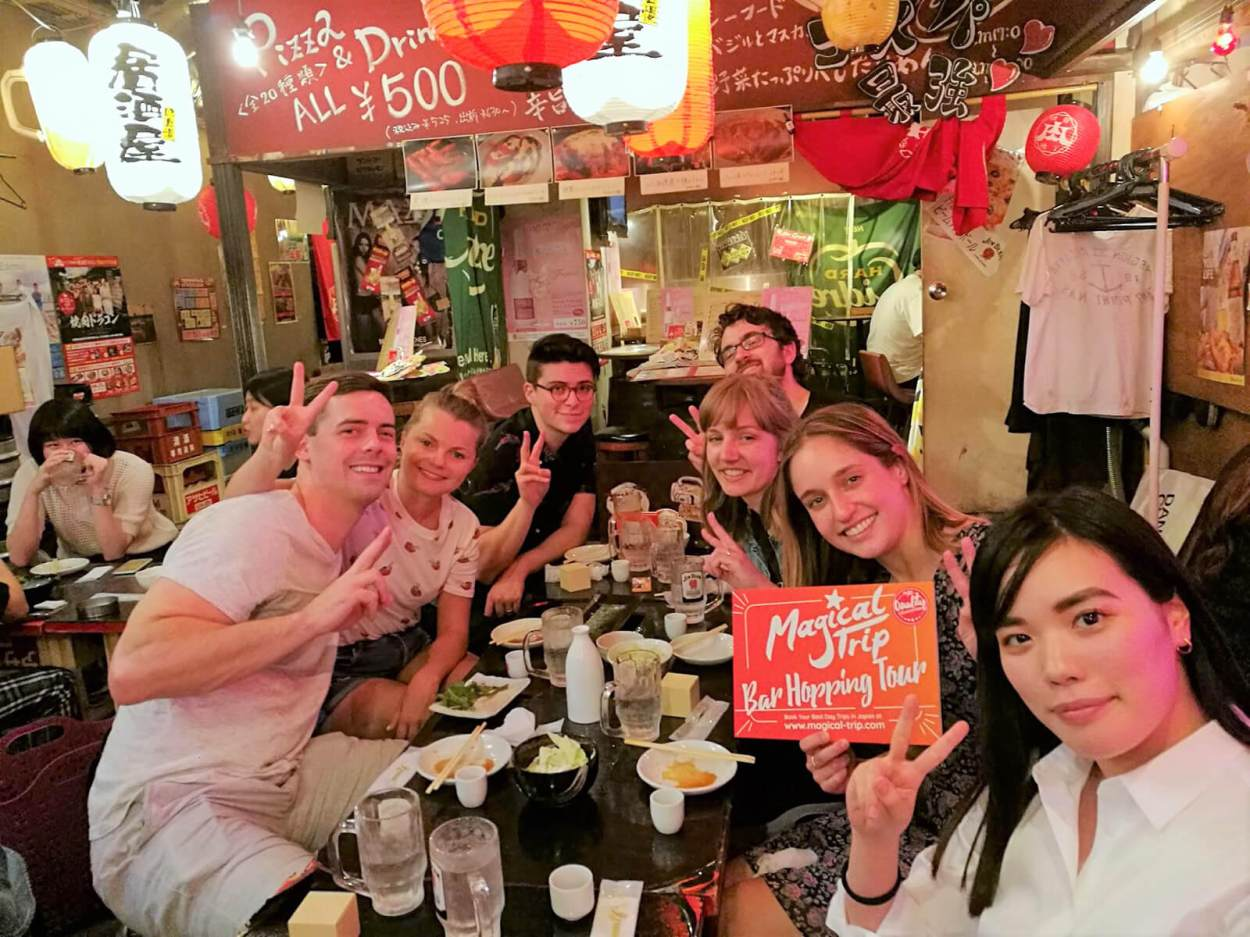 Shibuya bar hopping with Magical Trip -- experiencing the best of Tokyo nightlife