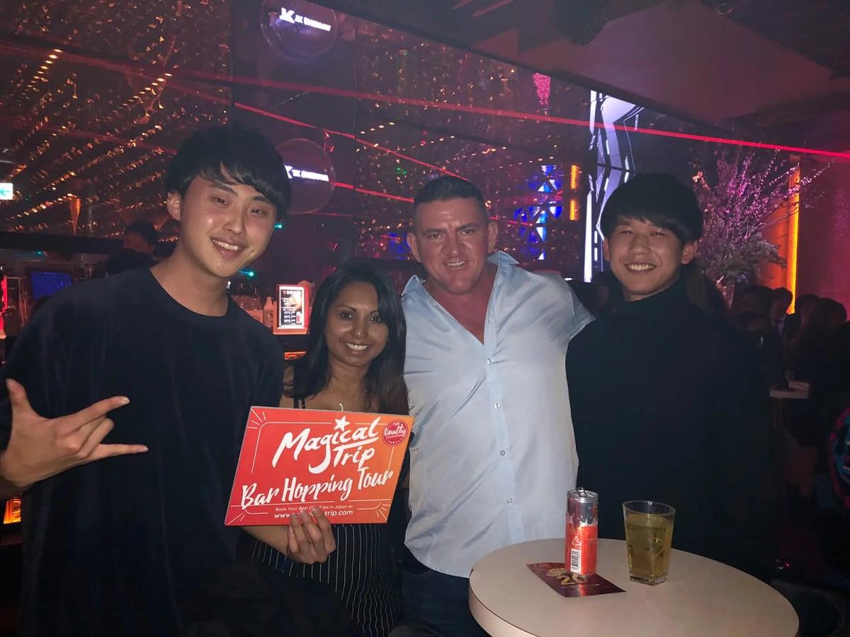 Shibuya nightclub tour with Magical Trip