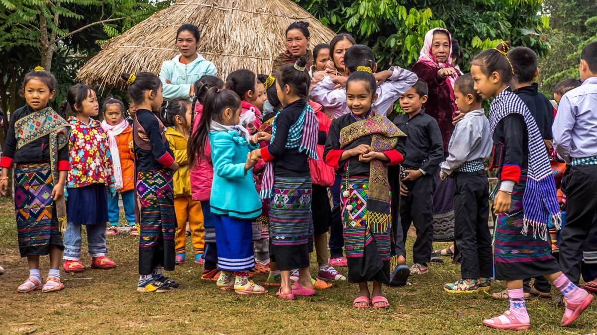 Kids in Oudomxay, Laos