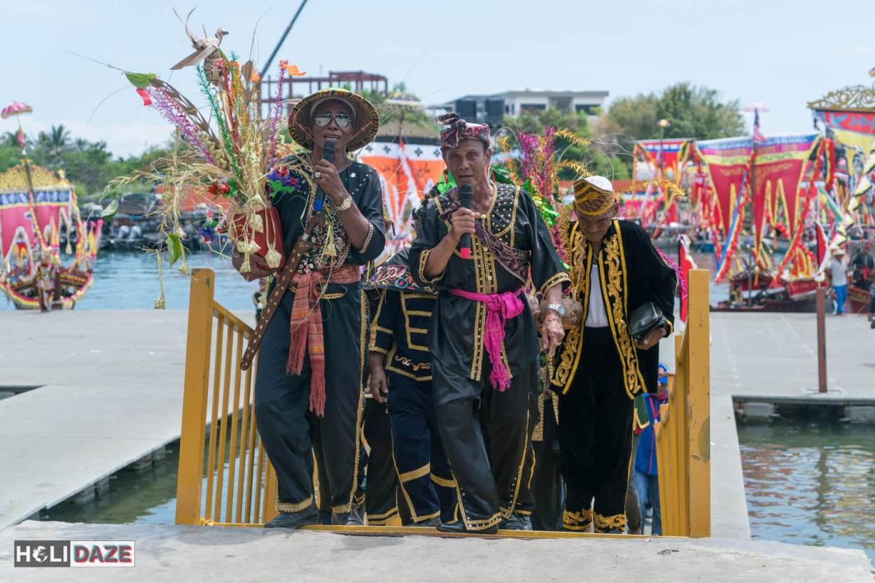 Winners of the Regatta Lepa festival in Semporna, Sabah
