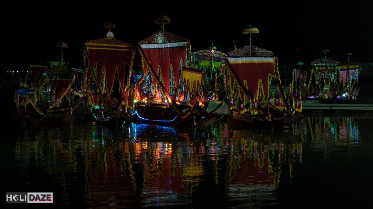 The Lepa-Lepa festival after dark!