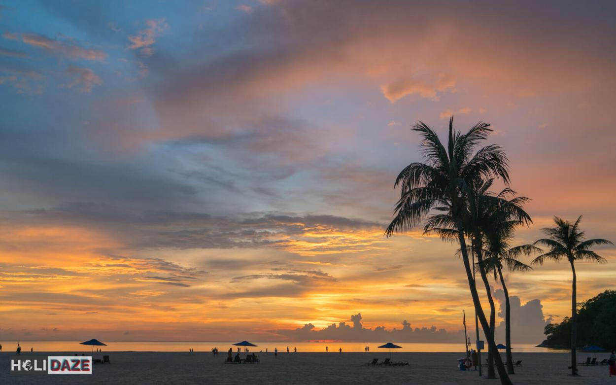 The best place in all of Sabah to view the sunset is undoubtedly Shangri-la's Rasa Ria Resort