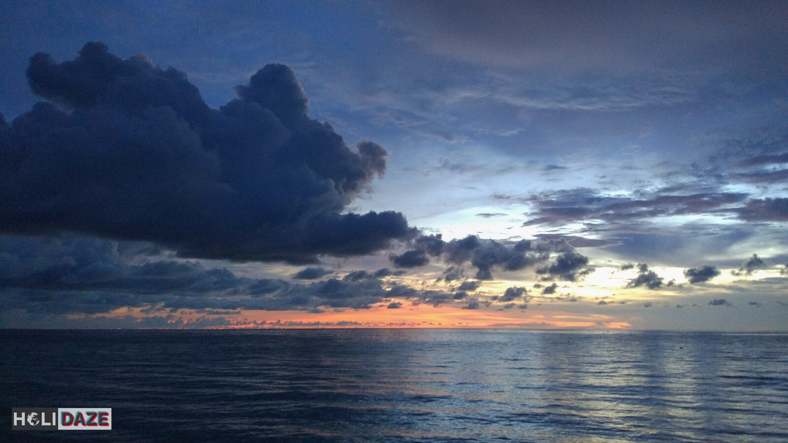 The Tip of Borneo is one of the best places to view the colorful Sabah sunset