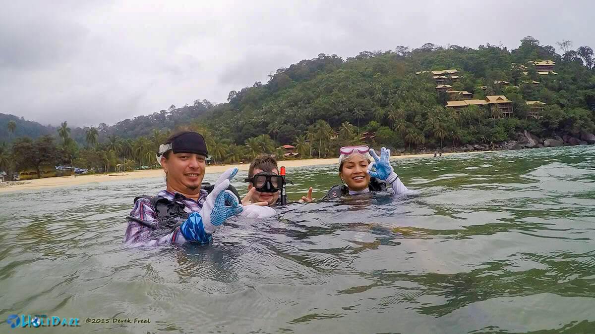 Scuba Diving Salang, Tioman Island, Malaysia