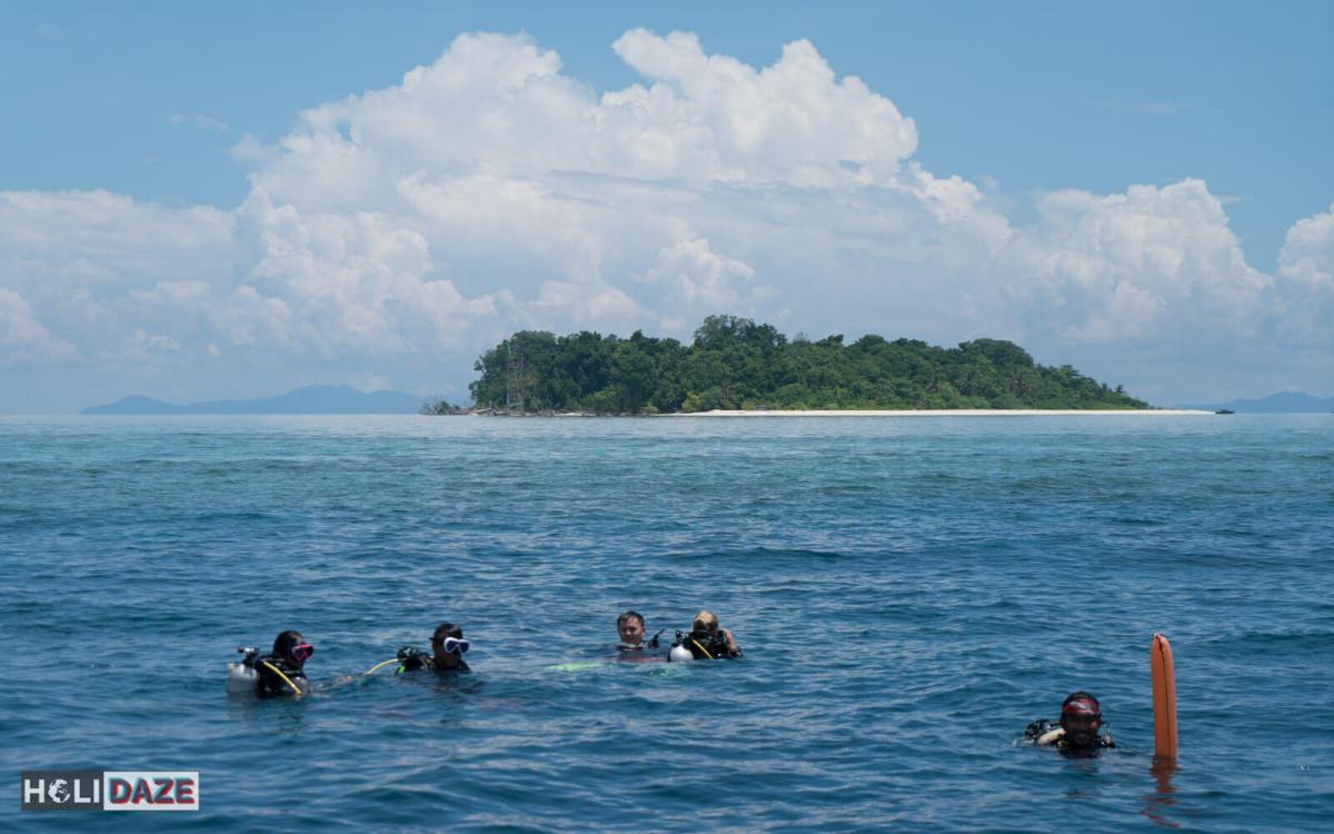 Scuba diving at Sipadan Island with Scuba Tiger, part of the Scuba Tiger Experience!