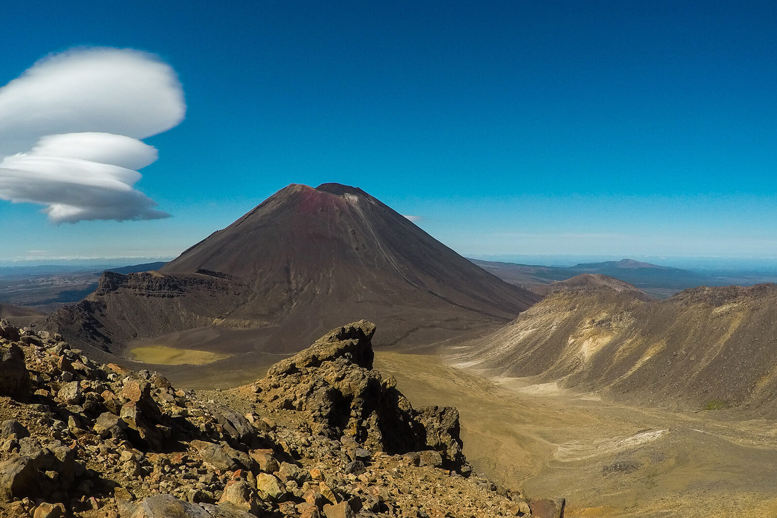 Mount Ngauruhoe is one of the most beautiful parts of Tongariro National Park