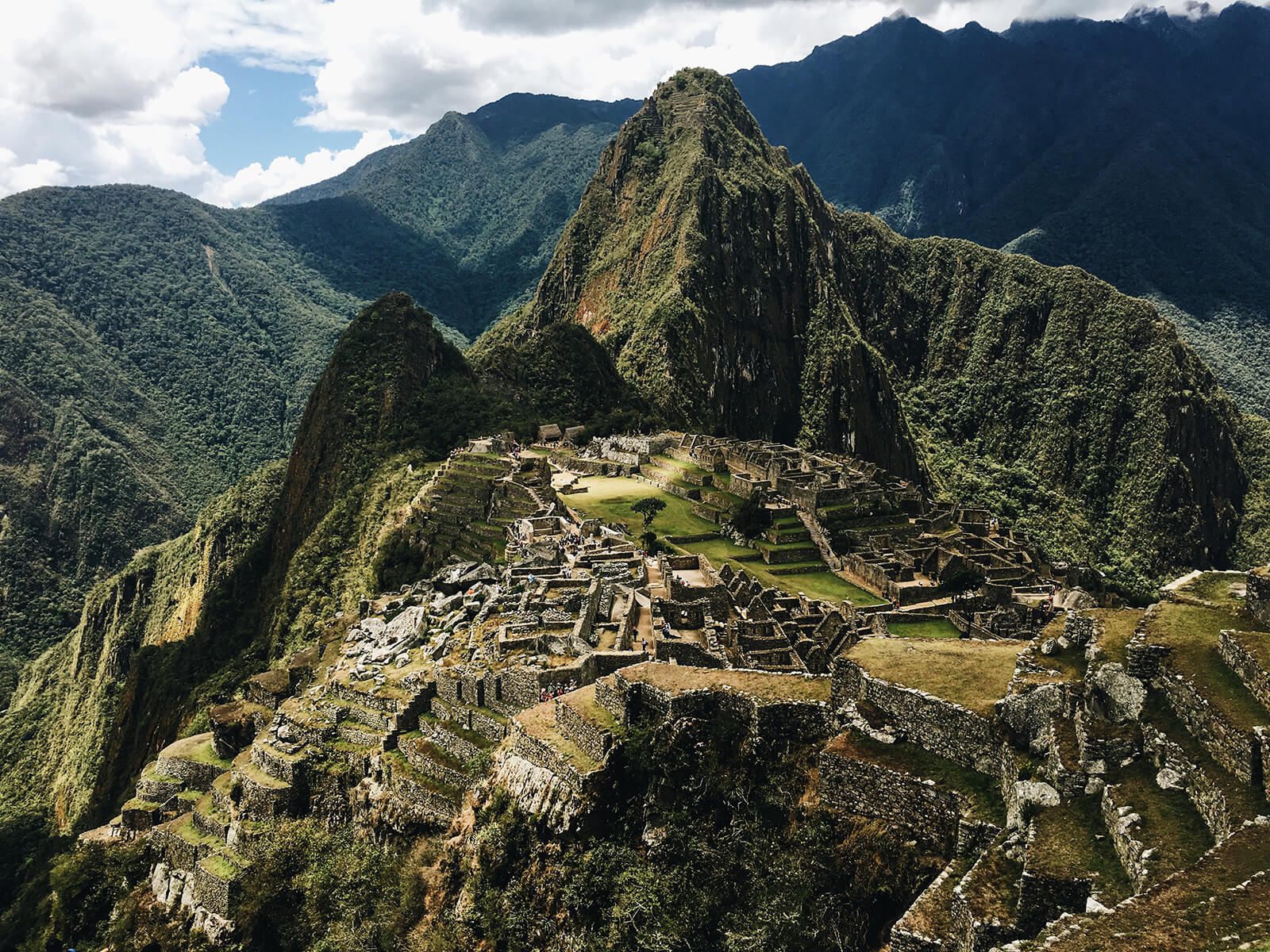 High up in the mountains of Peru lies Machu Picchu, lost city of the Inca, UNESCO World Heritage Site, and bucket list travel destination