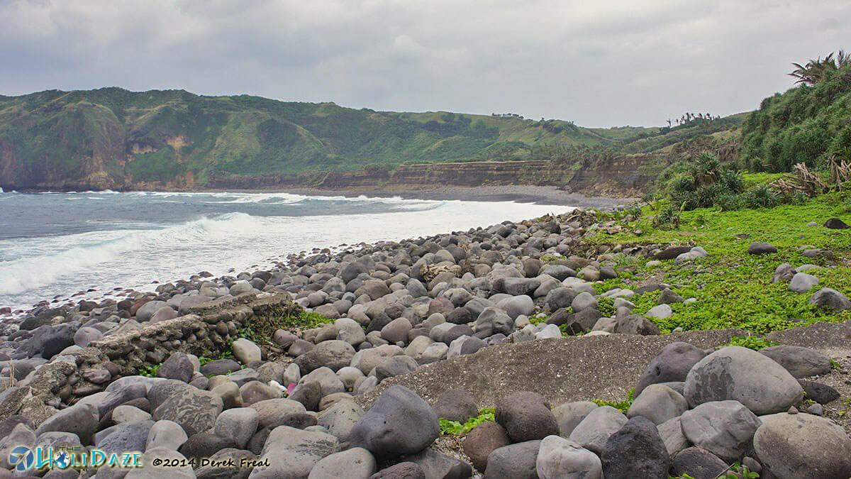 Boulder Beach, Batan Island, Batanes in the Philippines