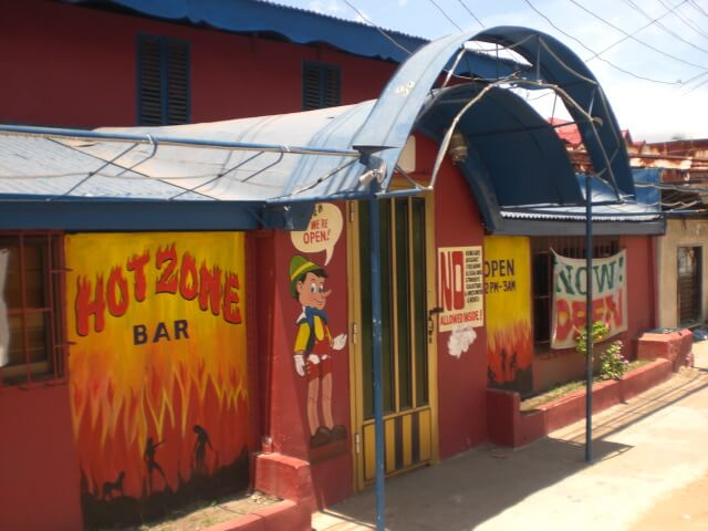 The Hot Zone in Subic Bay, Philippines