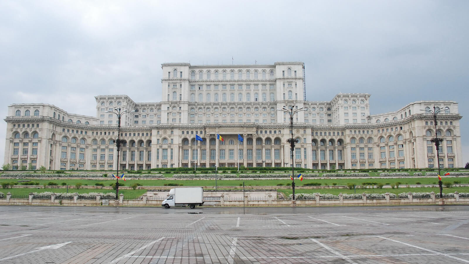 The People's Palace in Bucharest is one of the must-do things your first time in Romania
