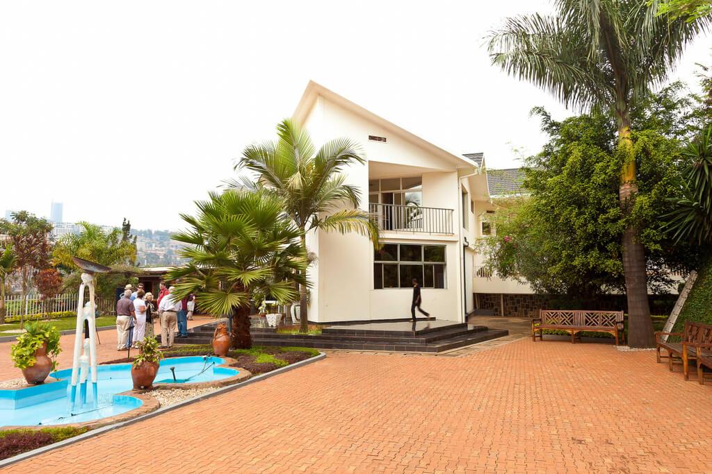 Kigali Genocide Memorial Centre in Rwanda