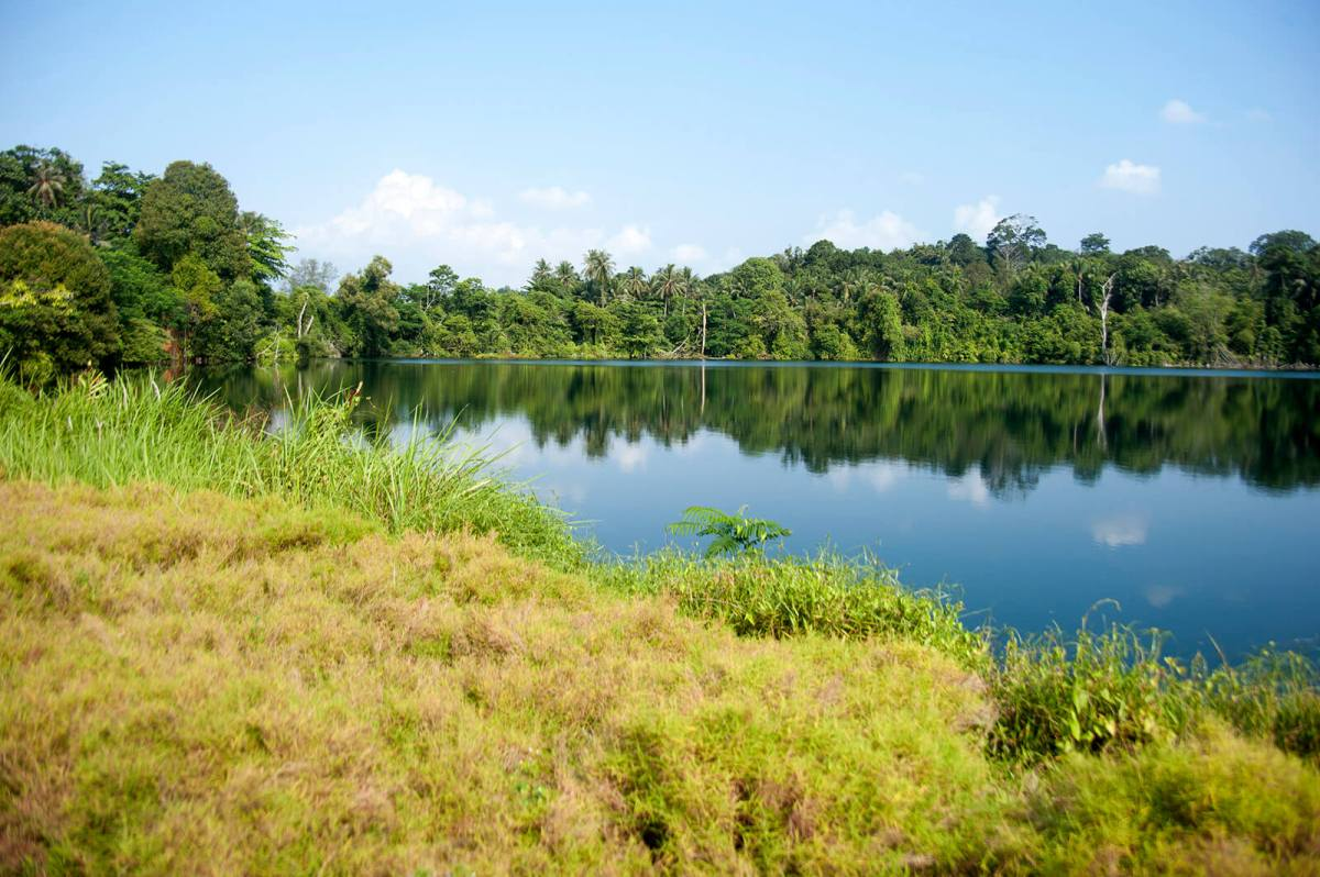 Pekan Quarry on Pulau Ubin, one of the offbeat things to do in Singapore