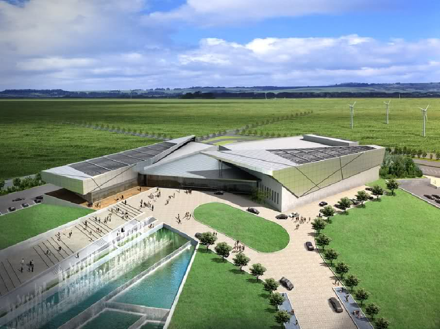 Hambantota International Convention Centre artist rendering