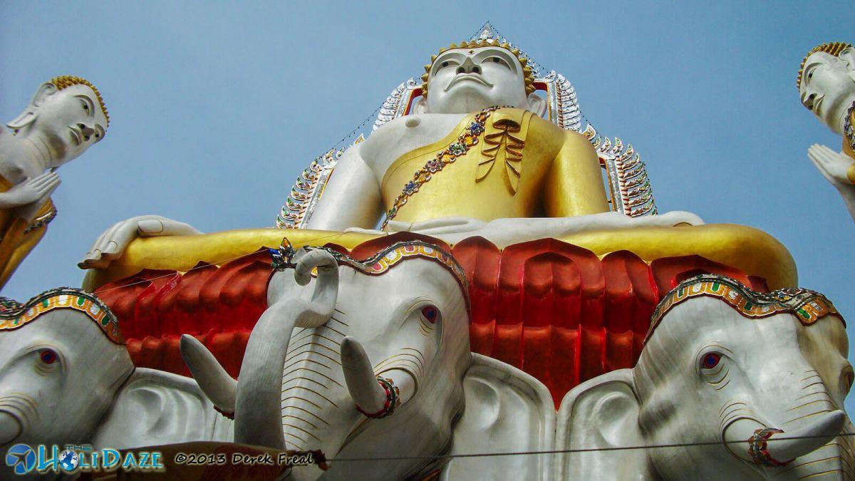 Giant Buddha statue in Bangkok, Thailand