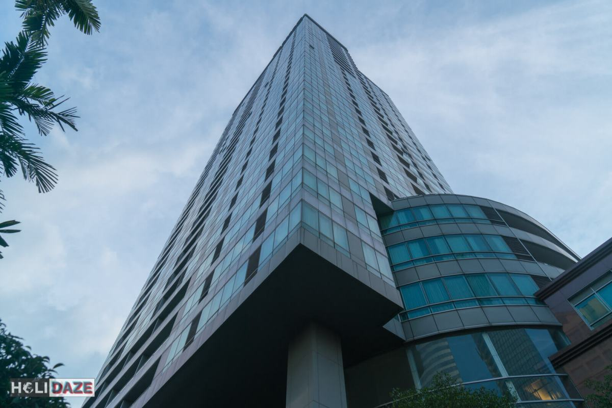 Exterior of the Ascott Sathorn in Bangkok, Thailand
